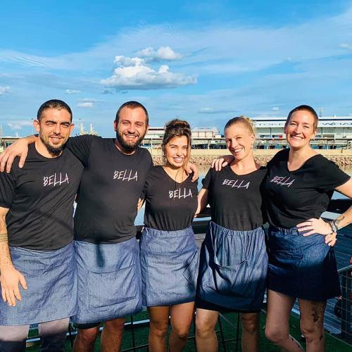 Our Bella Team, all great people